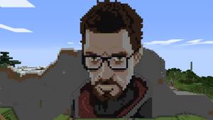 Freeman pixel art