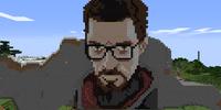 Gordon Freeman pixel art