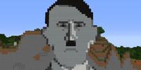 Dolfy Face pixel art