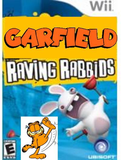 Garfield raving rabbids cover na