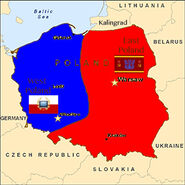 West and East Poland