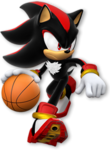 Dark Sonic Basketball