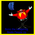 Sonic the Hedgehog Beats People Up