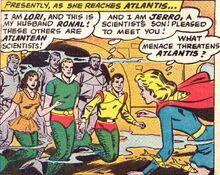 Super girl atlantis