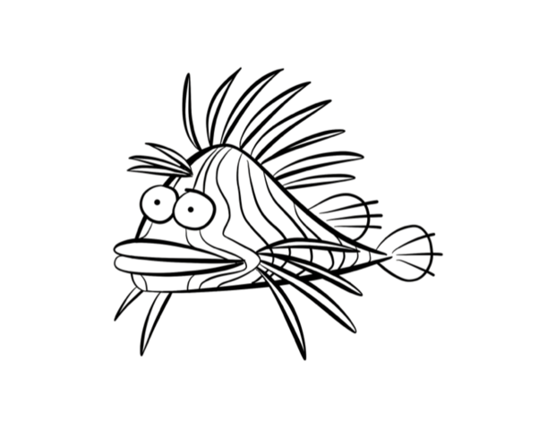 File:593721-lionfish-coloring-pages.png