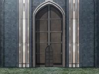 Academy Gates Doors