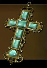 Jeweled Golden Cross
