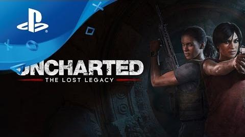 Video - Uncharted The Lost Legacy - Announcement Trailer ...  Video - Unchart...