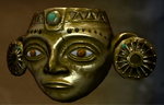 Golden Inca Mask