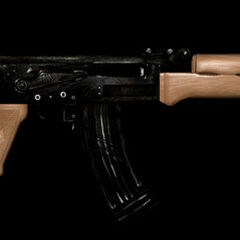 Broń AK-47 <a href=