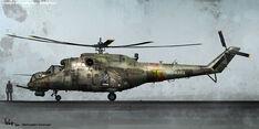 Mi-24 Hind Concept