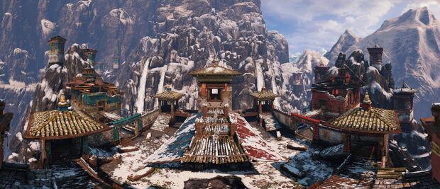 The Sanctuary panorama by AlgoRhythmic