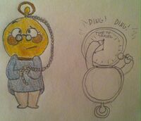 Uncle grandpa oc tinley the time machine by shenanistorm-d6qlnpt