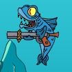 Harpoon fish