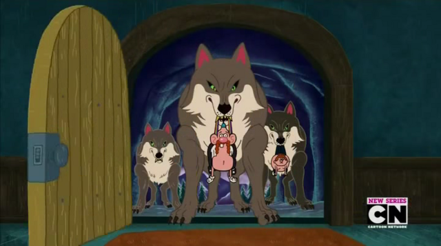 File:Night Wolves and Uncle Grandpa and Belly Brother 1.png