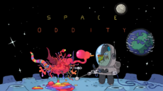 Space Oddity Title Card HD