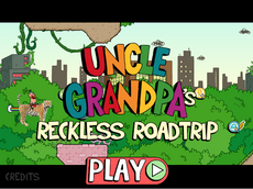 Reckless Road Trip Title Screen