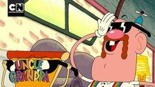 Uncle Grandpa Babysitting Lil Mac Cartoon Network