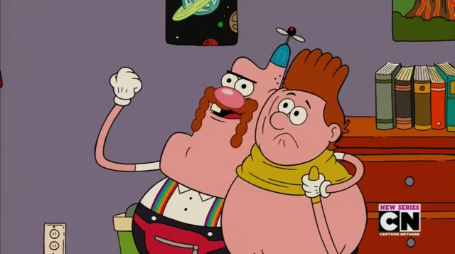 File:Uncle Grandpa, Belly Bag, and Belly Brother 14.png