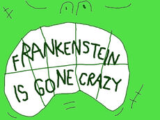 Uncle Grandpa Frankenstein Is Gone Crazy Title Card
