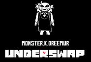 Underswap au monster k dreemur by fnafspritemaker-da3im25