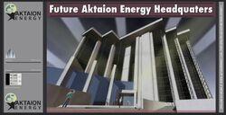 Aktaion Energy streetsign