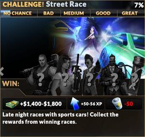 Job street race