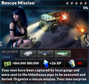 Job rescue mission