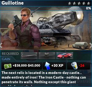 Job guillotine