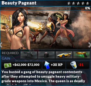 Job beauty pageant
