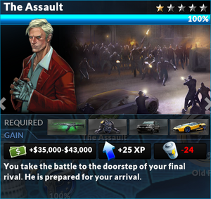 Job the assault