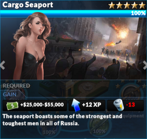 Job cargo seaport