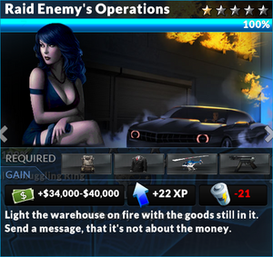 Job raid enemys operations