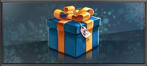 Item blue present
