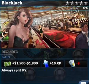Job blackjack