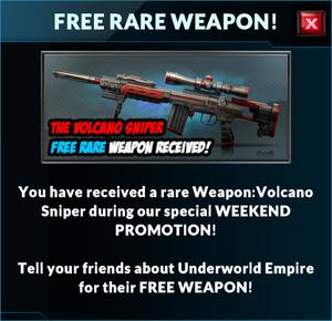 Event volcano sniper