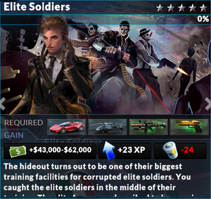 Job elite soldiers