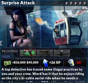 Job surprise attack