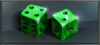 Item emerald dice