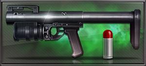Item kastet 40mm launcher
