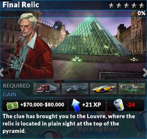 Job final relic