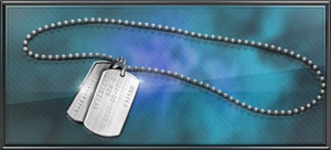 Item busters dog tags