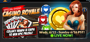 Event casino royale banner