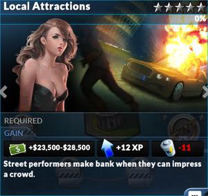 Job local attractions