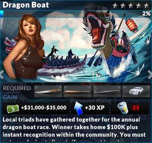 Job dragon boat