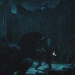 Invading Castle Corvinus.