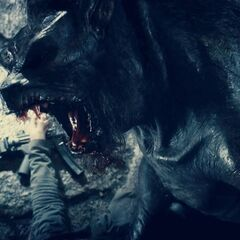 A transformed Lycan in Thomas Coven