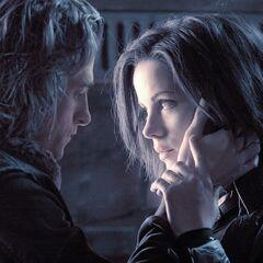 Selene with Michael.