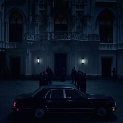 The entrance to the Vampire castle