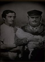 Portrait of Sedgewick and his son Connor